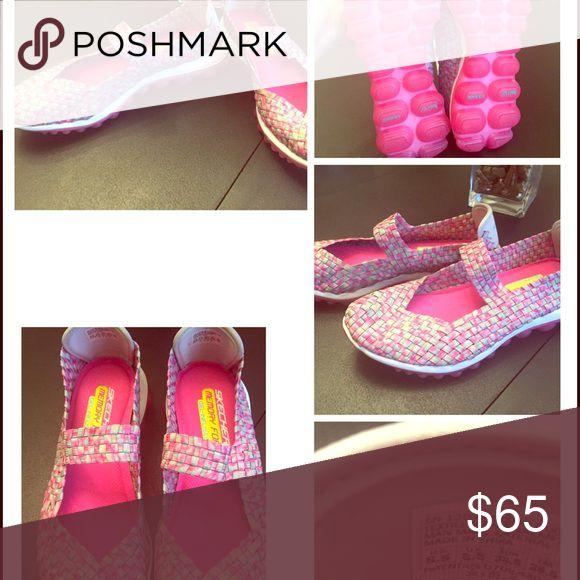 Women's Skechers  Mary Janes size 8.5 Never worn! Women's sketchers / Sketch Air Mary Jane shoes with memory foam and gel infused. Size 8.5 Skechers Shoes Sneakers