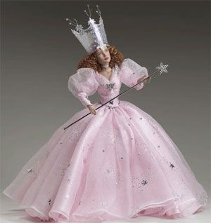 tonner dolls  wizard oz original glinda good witch dressed collectibles