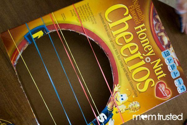 Easy Peasy Diy Guitar For Kids To Make Crafty Kids