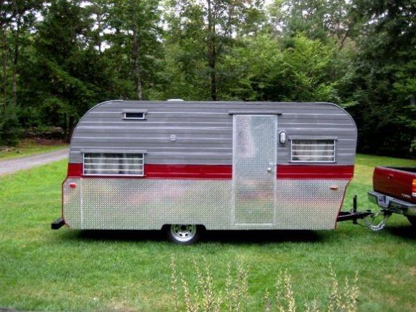 1970s Restored camper | campers i covet | Pinterest