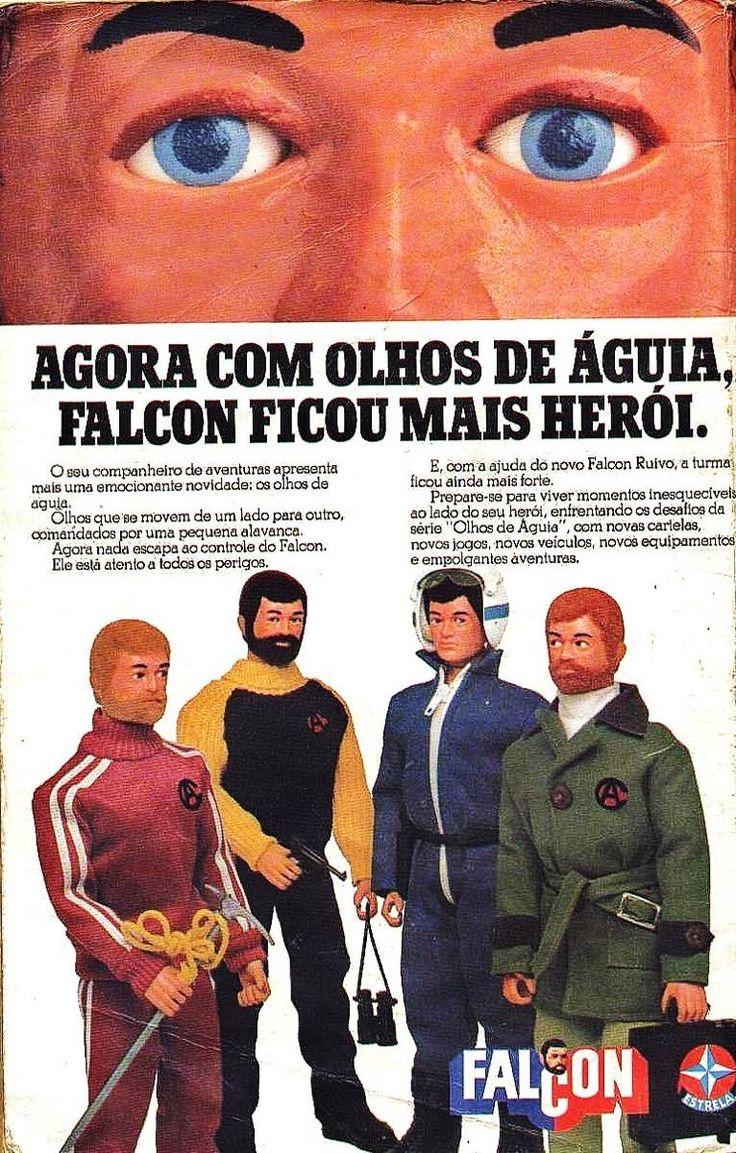 boneco falcon estrela