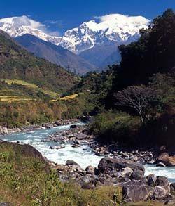 ANNAPURNA CIRCUIT TREK - 16 DAYS Commencing with an overland journey to Beshi Sahar, 130 km West of Kathmandu where we overnight.