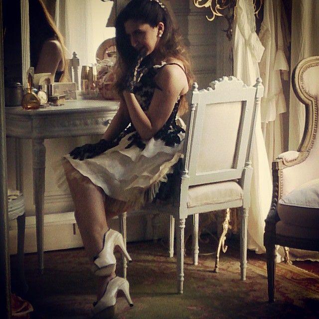 MarF Zapatos, modelo Diammella en la produccion de fotos de Stella Maris Faggiano