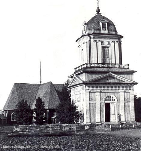 Kälviän toinen kirkko 1764-1905
