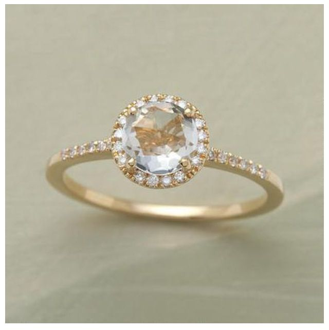 Vintage wedding ring rose gold Gettin Hitched