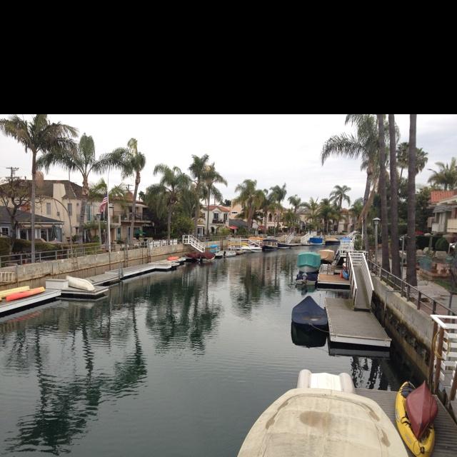 Loved walking here! So peaceful!! Naples, Long Beach, CA