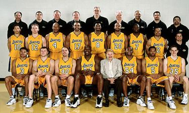 Los Angeles Lakers 2001 2002 Roster Nba Legendary Teams