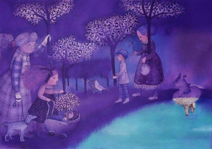 Pinzellades al món: Les il·lustracions de Regina Lukk-Toompere