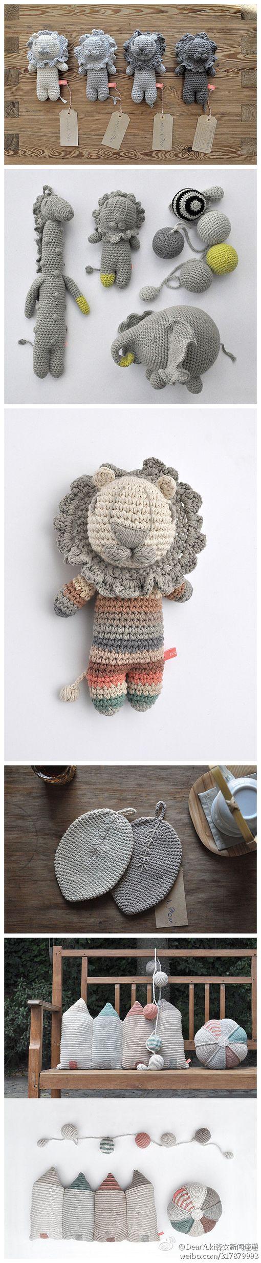 Lion amigurumi #amigurumi