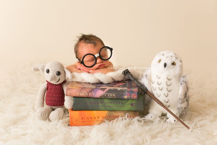 Harry Potter Newborn Session
