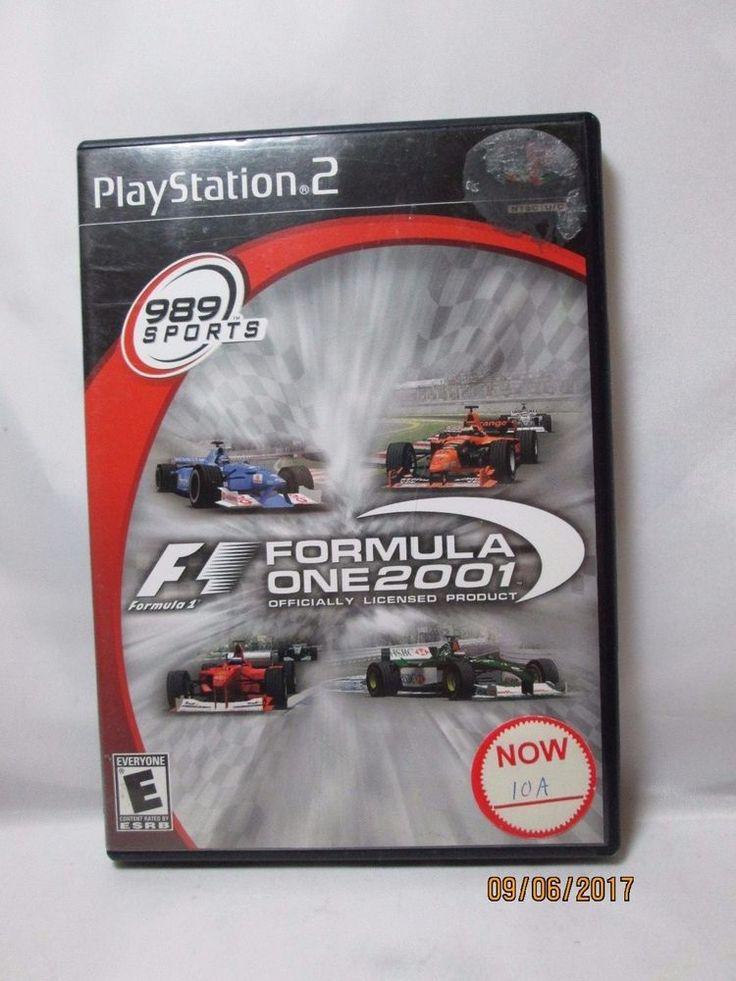 Formula One 2001 Racing (Sony PlayStation 2, 2001)