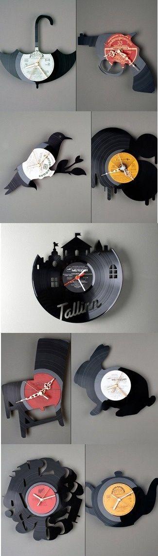 Часы — незаменимая вещь в каждом доме. Неплохо, когда этот элемент декора вписывается в интерьер и обращает всеобщее внимание. Хорошо, когда красивые часы не стоят много денег. Идеально, если есть вдохновение и свободное время смастерить эксклюзивные часы. На самом деле, 'хитрость' часов в механизме. А вот где он будет располагаться — дело вашей фантазии и рук.