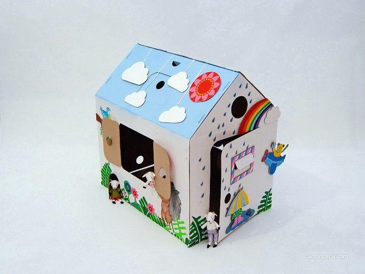 Мой первый дом – это многофункциональная игрушка, которую можно легко собрать, разобрать, перевезти и собрать на новом месте. Его можно использовать не только как домик для ребенка, но...