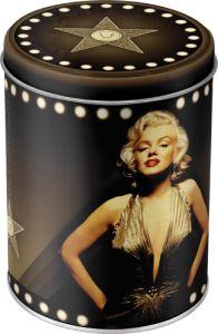 Marilyn  peltipurkki 9,95€