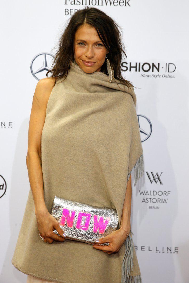 Pin for Later: Die Stars besiedeln Berlin bei der Fashion Week Jana Pallaske bei der Mondenschau von Marc Cain