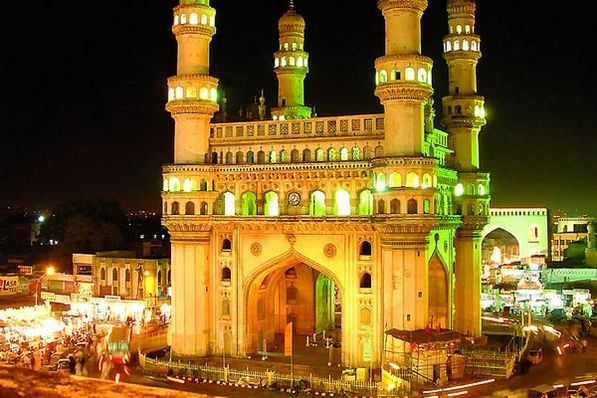 Hyderabad char minar -  a best example of muglai architecture and heritage building.
