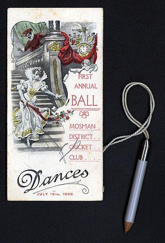 1909 Mosman District Cricket Club
