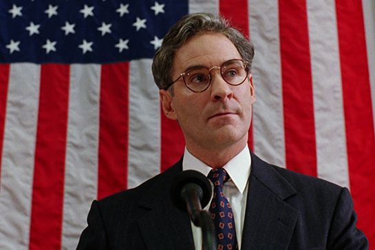 R29's Favorite 4th Of July Movies #refinery29  http://www.refinery29.com/2015/07/90038/fourth-of-july-movies#slide-12  Dave (1993)Dave features Kevin Kline playing dual roles as the president and a presidential lookalike, who stands in for the real one when he falls sick. It's behind-the-scenes political intrigue gone wacky.