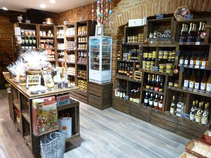 Magasin epicerie caisses en bois retour photos de mes clients les 400 go ts william - L art de la caisse ...