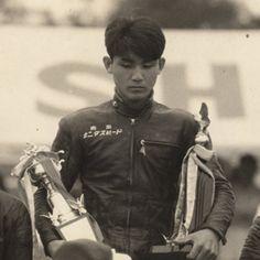 1959年 浅間火山耐久レース  1位 北野 CB92
