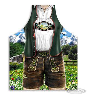 Lederhose Kochschürze Bayerische Tracht Hier bei www.closeup.de