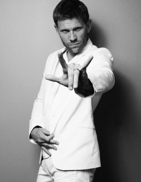 Mark Pellegrino- raising the horns and all. What a sexy devil.