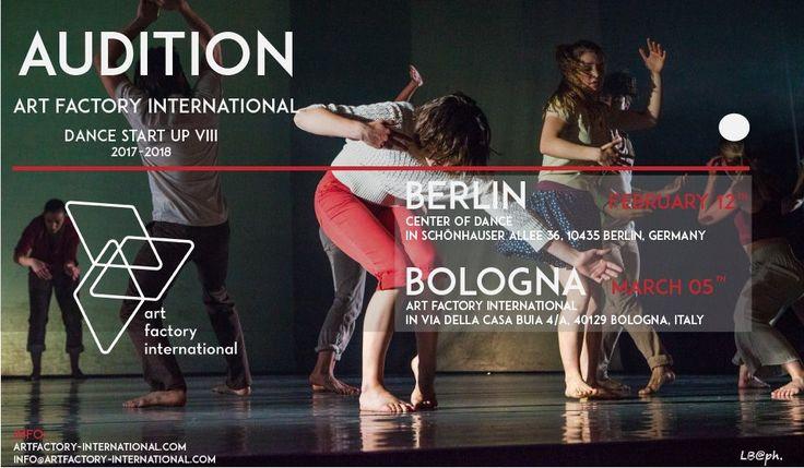 Audition Art Factory International Dance Start UP PROGRAM