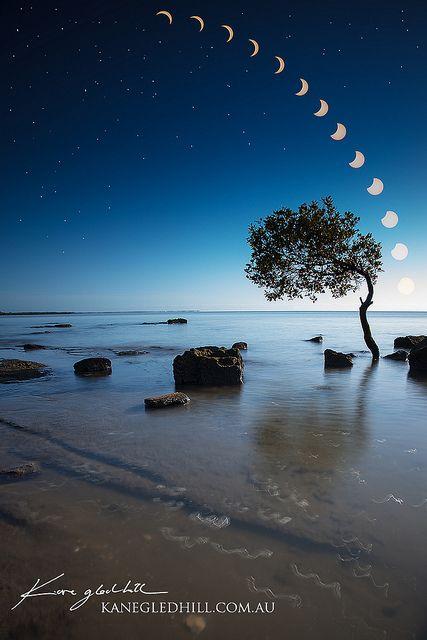 Partial Solar Eclipse 2012, Viewed from Brisbane, Australia