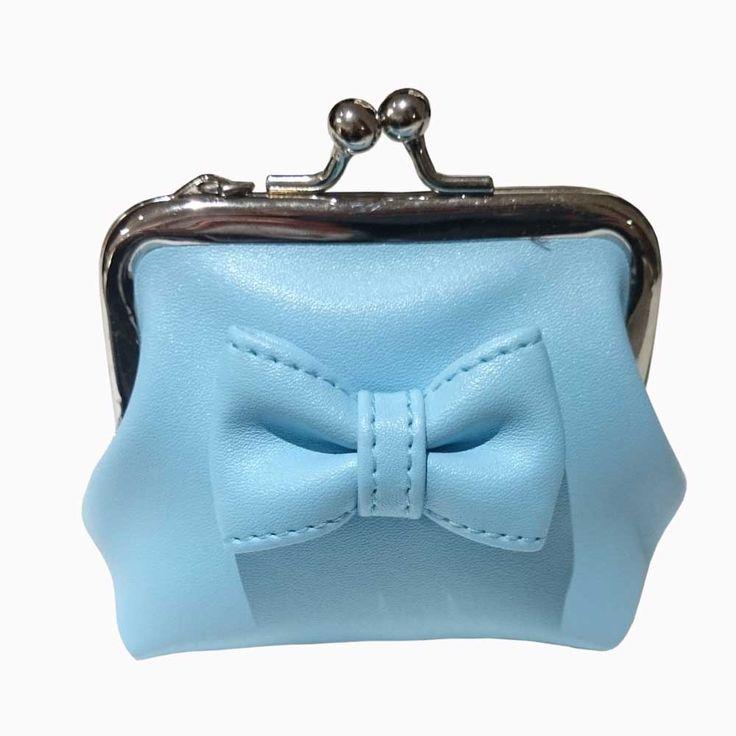 Banned Sienna pastel portemonnee met strik blauw - Banned   Attitude H