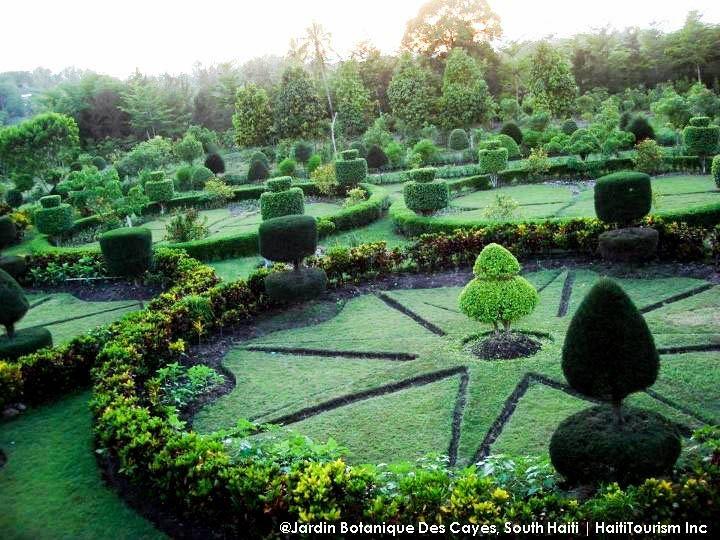 Haiti: Jardin Botanique Des Cayes