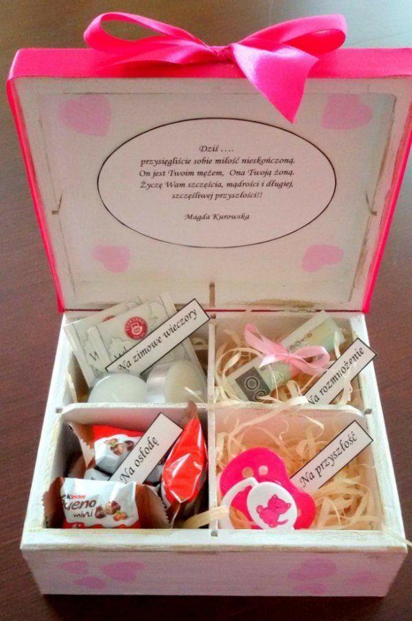 Świetny pomysła na prezent ślubny...
