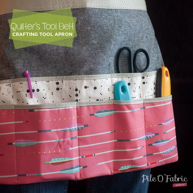 Quilter's Tool Belt + Crafting Apron