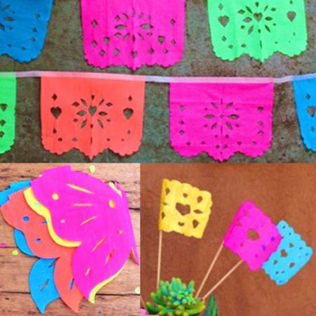 Free to happythought members printable pdf templates for Papel picado template for kids