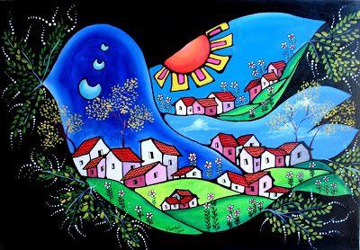 El Naif de Claudia... - Pintura y arte naif de Chile