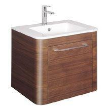 Bauhaus Celeste Vanity Unit With Basin   American Walnut Medium Image.  Luxus BadezimmerBadezimmer WasserhahnBadezimmerideenDuschräume