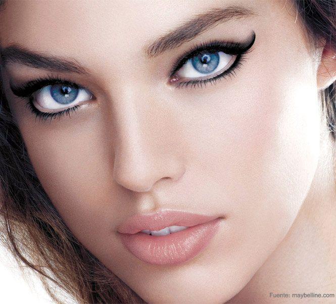 Cómo aplicarte el eyeliner según la forma de tus ojos.