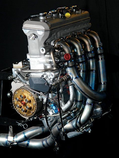 ◆ Visit MACHINE Shop Café ◆ (Yamaha M1 Motorcycle Engine)