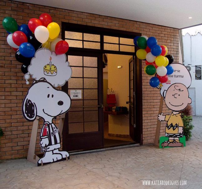 Snoopy Balão Cultura 9