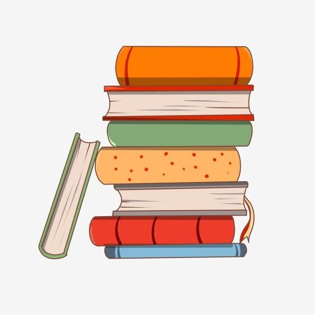 Jour Peint A La Main Une Pile De Livre Livre Livre Prof Education Fichier Png Et Psd Pour Le Telechargement Libre Book Clip Art Stack Of Books Education Clipart