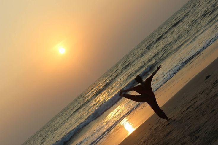 yoga india beach goa