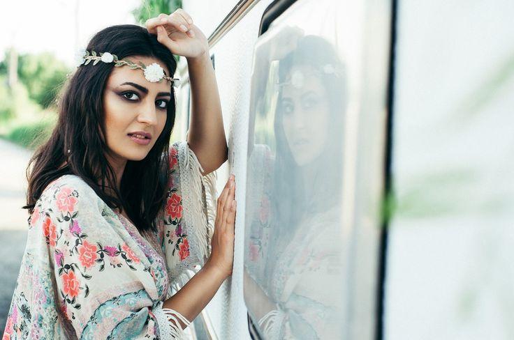 #editorial #beauty #fashion #makeup #mymakeup #oanabusuioc #mirror #van #smokey #black #brown #eyes #flower #boho #chic #gypsy