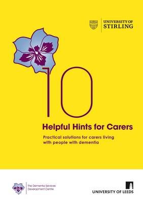 easy-to-read guide for carers living with people with dementia. It provides simple, practical solutions to the everyday problems family carers can face when looking after a person with dementia.