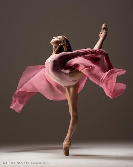 Ellison Ballet student Juliette Bosco (photo by Rachel Neville)