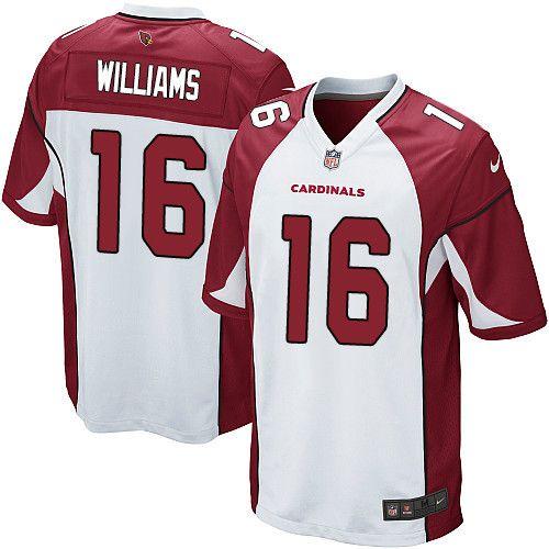 Men's Nike Arizona Cardinals #16 Chad Williams Game White NFL Jersey