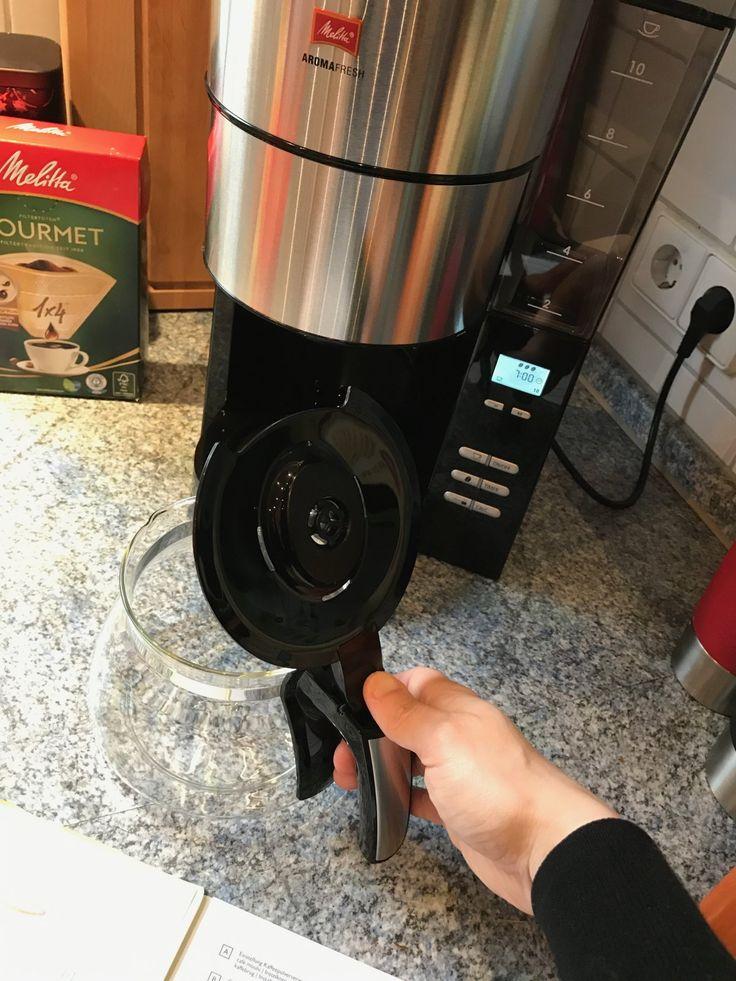 Unique Melitta AromaFresh Kaffeemaschine Mit gut zu reinigender Glaskanne Melitta MelittaAromaFresh AromaFresh MelittaBellaCrema