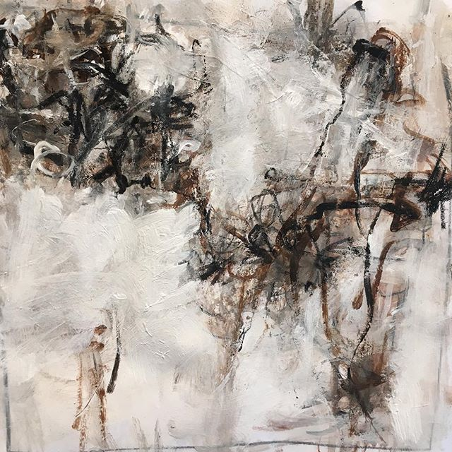 Another little neutral from a group of 6. In Buddhist thought when something is neutral in its feeling to us we don't pay much attention to it. In painting I don't think the analogy holds.