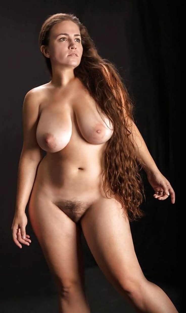 Sexy curvy naked mature women