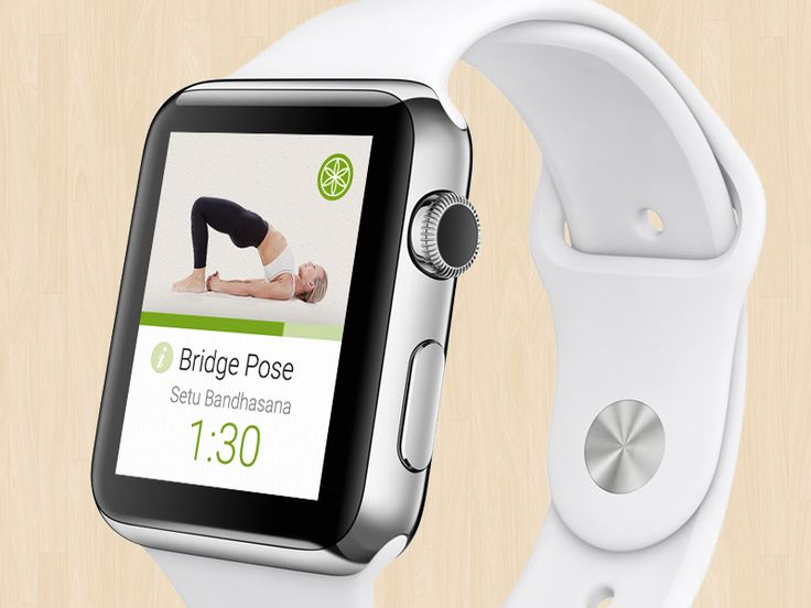 Yoga for the Apple Watch Apple watch apps, Smart watch