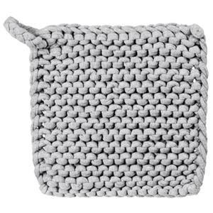 Lagerhaus GRYTLAPP VIRKAD GRÅ 20X20 CM: Gray Squares, Crochet Pots, Pots Holders, Knits Kitchens, Garter St., Diy Craft, Knits Potholders, Kitchens Squares, Diy Projects