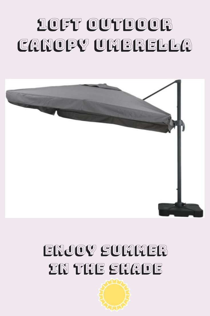 Nfusion Outdoor 10FT. Canopy Umbrella  #10ftcanopyumbrella #ad #summerstyle #out…